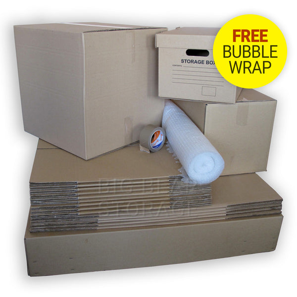 Basic Removal Pack for Student / Bedsit / 1 Bedroom Move