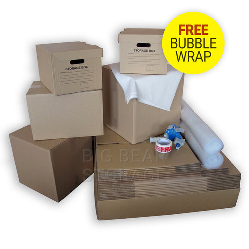 Standard Removal Pack for 1-2 Bedroom Move