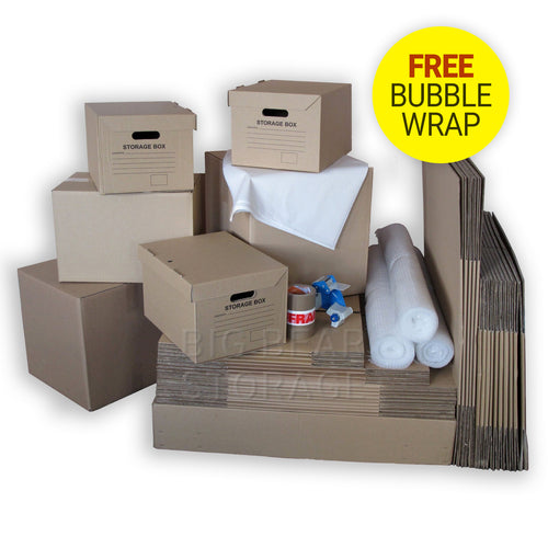 Premium Removal Pack for 3-4 Bedroom Move