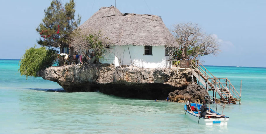 THE ROCK RESTAURANT, ZANZIBAR.