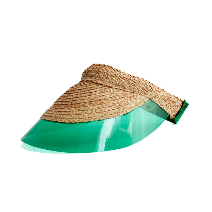Visière Billiard verte - LOLA HATS