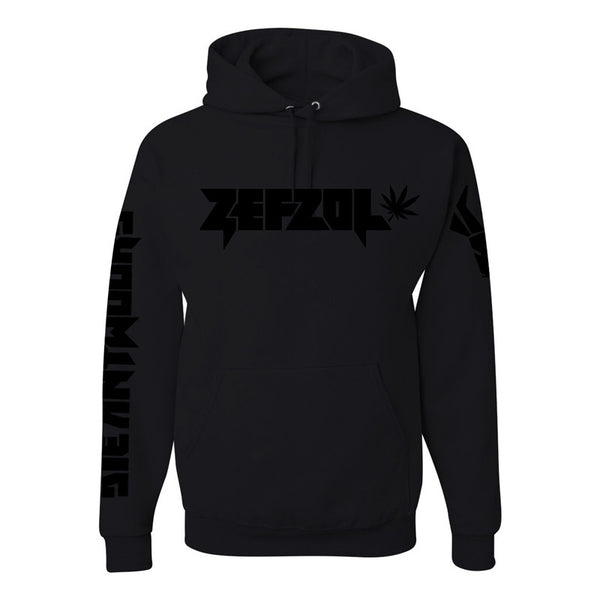 Zefzol Black On Black Hoody