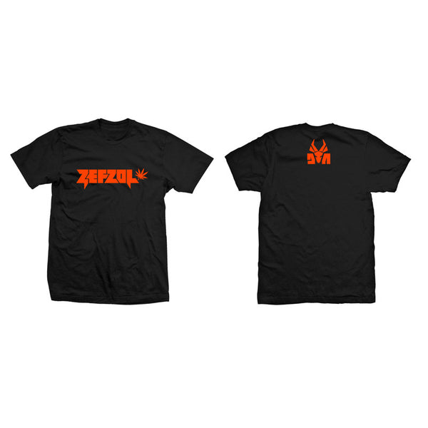 Zefzol Logo Black T-Shirt