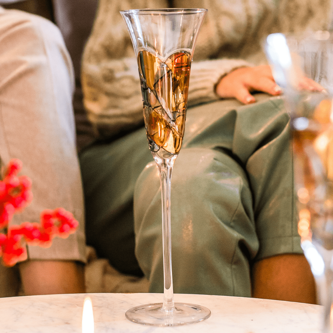 Delight your guests with Champagne flutes they'll love!