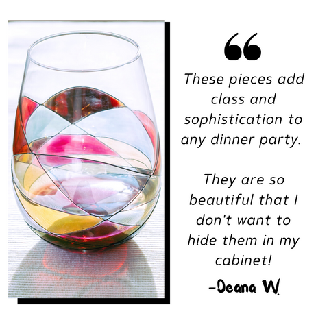 Deana W stemless glass review