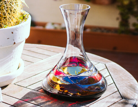 unique wine decanter