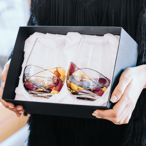 unique stemless wine glasses