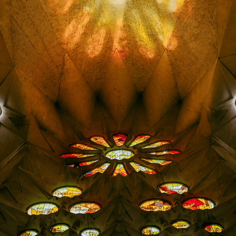 Inspired in la Sagrada Familia