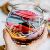 'Sagrada' Stemless Wine Glasses Balloon