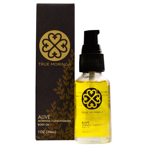 TRUE MORINGA - ALIVE (LEMONGRASS & MORINGA OIL)