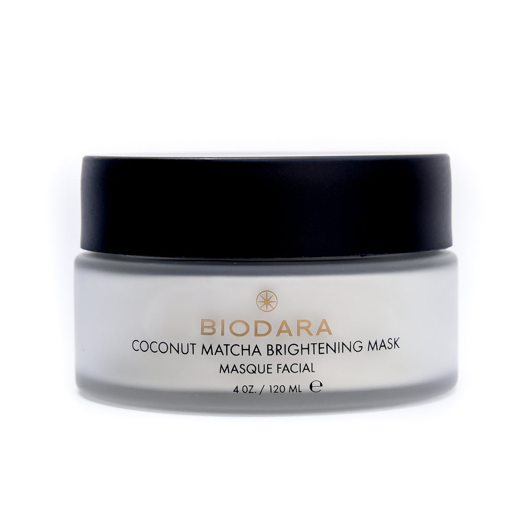 BIODARA  COCONUT MATCHA BRIGHTENING MASK