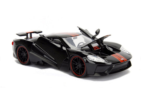 Jada  Metals Bigtime Muscle  Ford Gt Blackcast Car