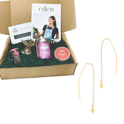 Gift Box - Eden Leaf Drop Earrings