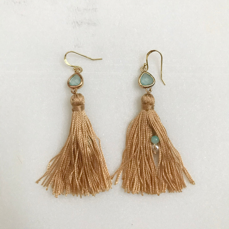 Threads of Joy Tassel Earrings