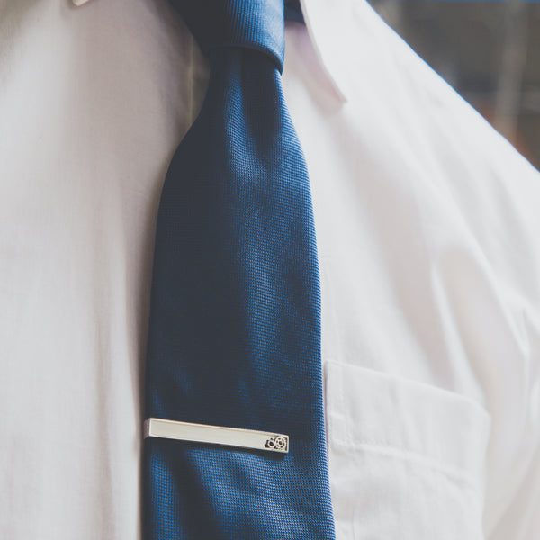 Gears of Change Tie Clip