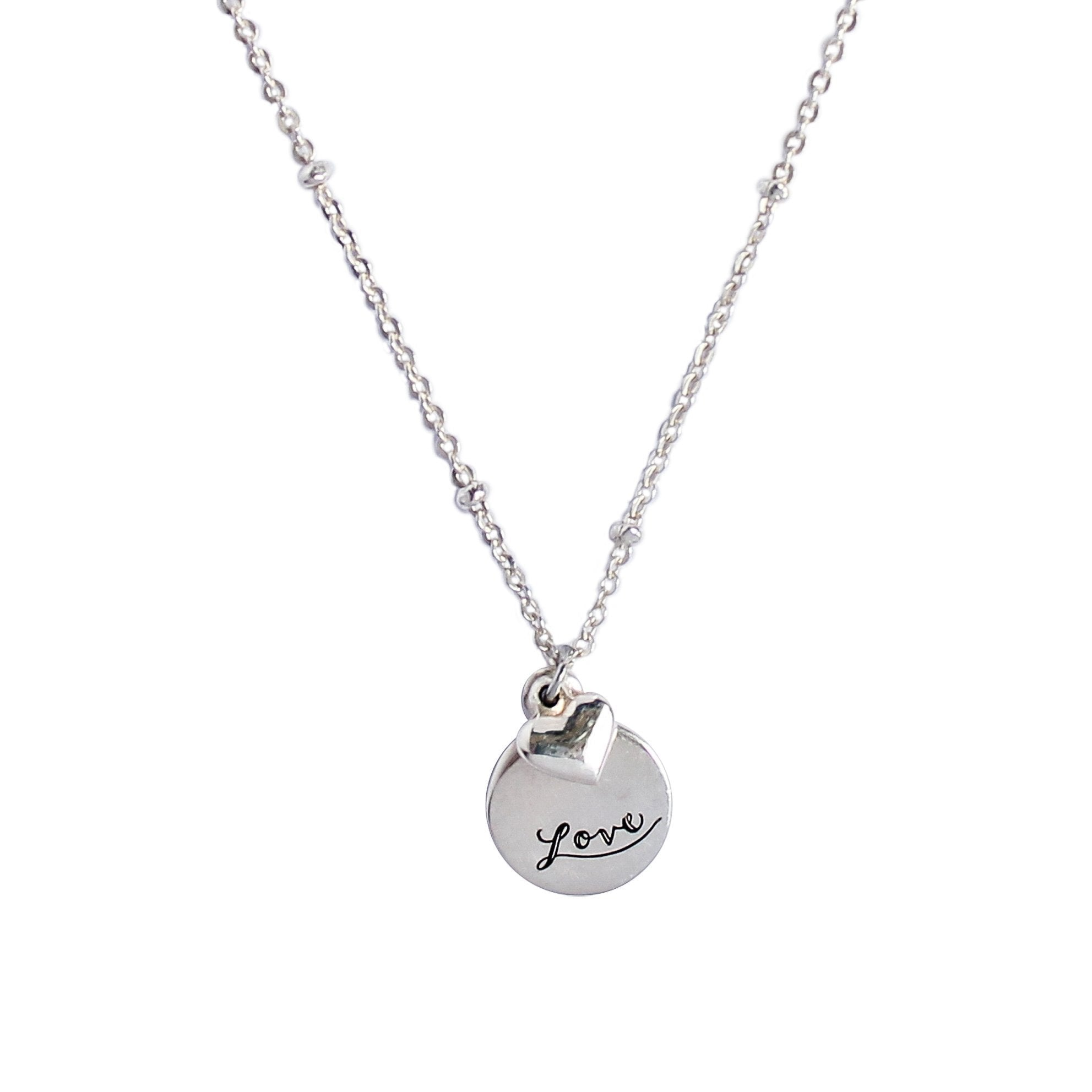 jewelry platinum heart jewellery sterling necklace itm silver and linking in diamond ct