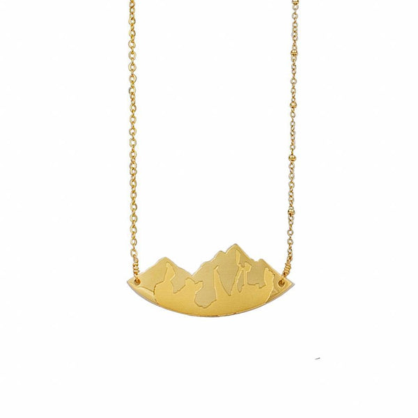 Faith to Move Mountains Necklace