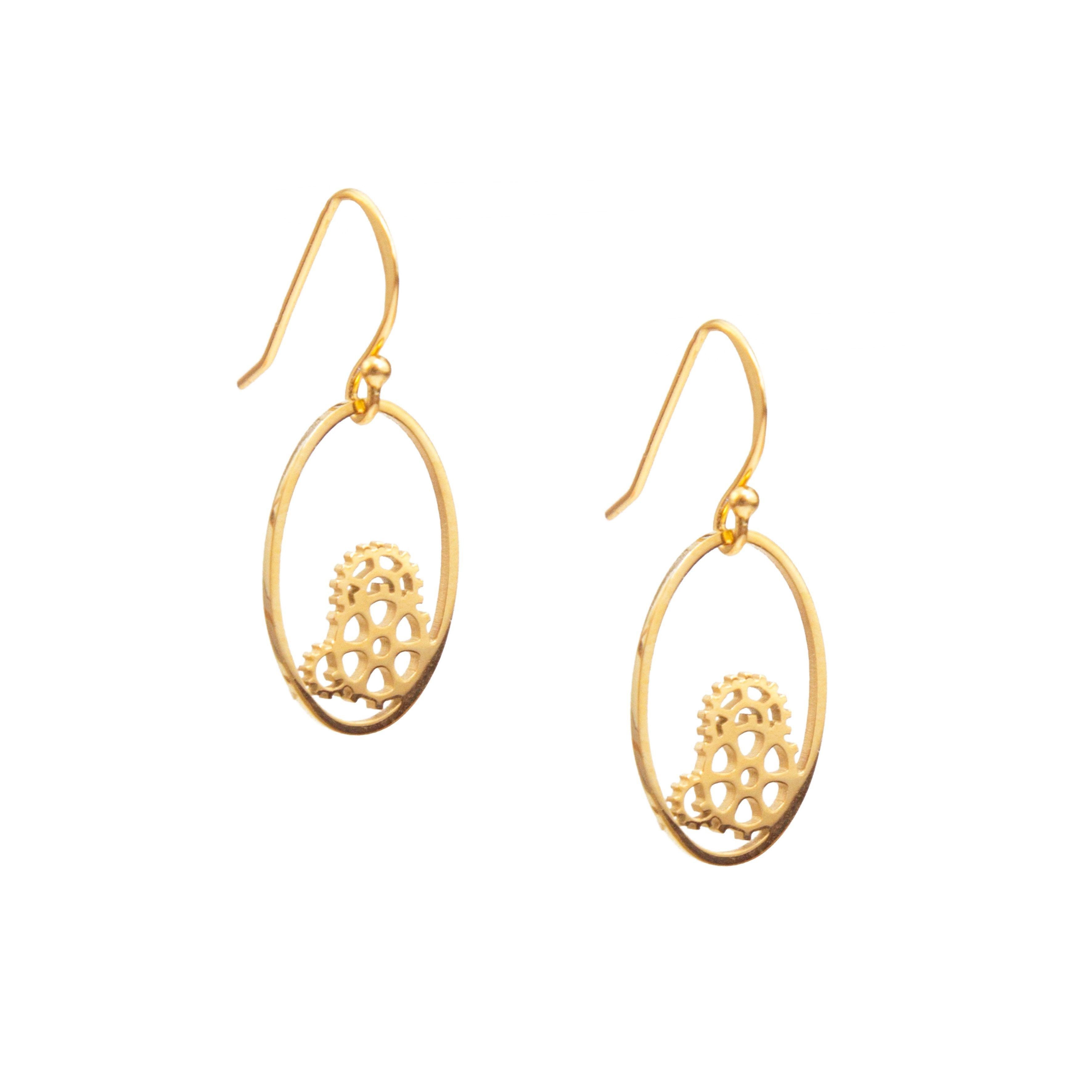 Cogs of Justice Earrings
