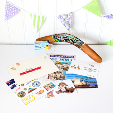 Australia Country Pack with Boomerang