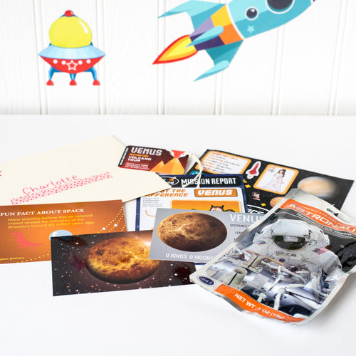 Venus Planet Pack with Astronaut Food.
