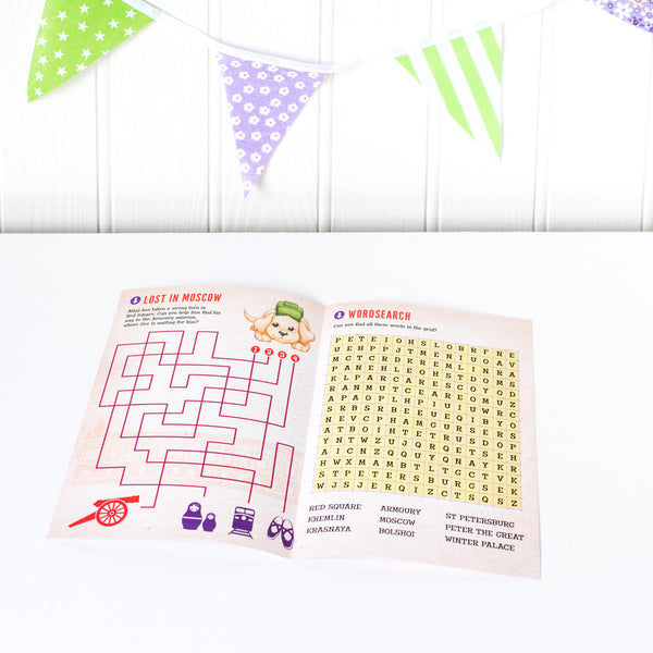 Geo Journey Activity Booklets