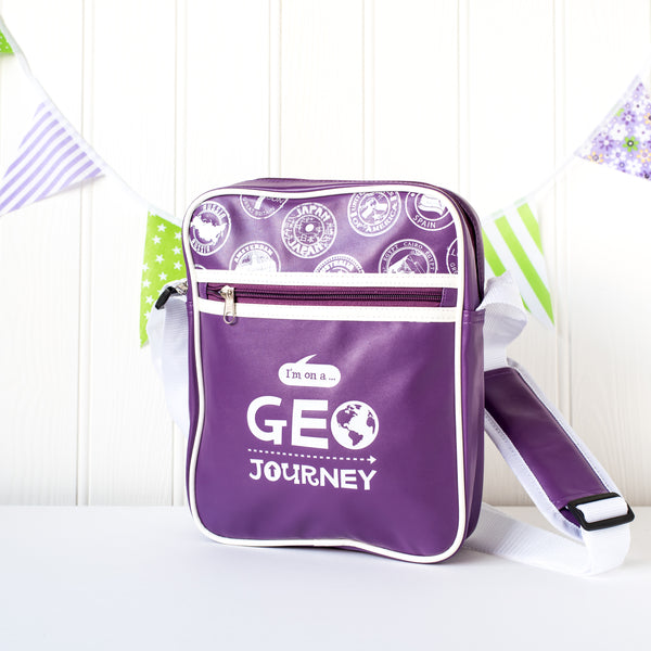 Geo Journey Messenger Bag