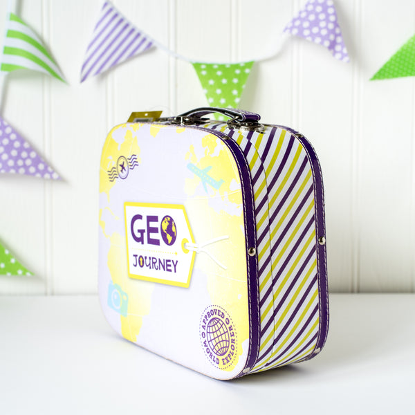 Geo Journey Kids Suitcase - Wholesale