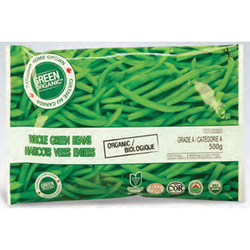 Green Organic - Frozen Green Beans (500g)