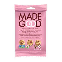 Made Good - Organic Granola Strawberry Minis (12 x 24g packs)