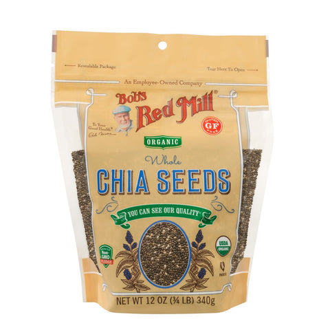 Bob's Red Mill - Chia Seeds - ORGANIC (340g)
