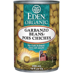 Eden Foods - Canned Chickpeas (Garbanzo) (398ml)
