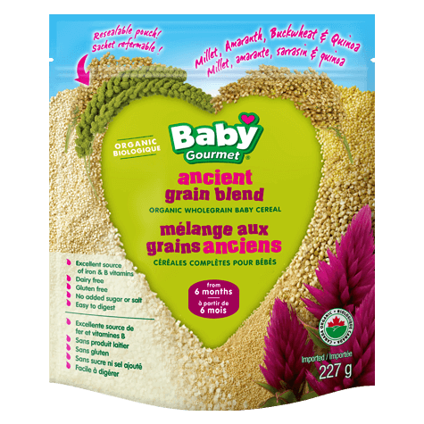 Baby Gourmet - Cereal - Ancient Grain Blend (227g)