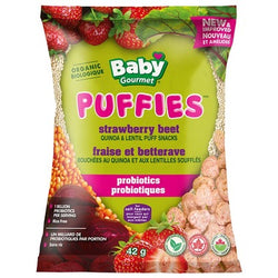 Baby Gourmet - Organic Strawberry Beet Puffies (42g)