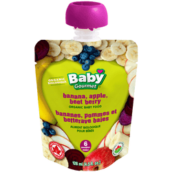 Baby Gourmet - Banana, Apple, Beet & Berry (128ml)