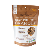 Rawcology - Banana with Maca Raw Crunch Granola (200g)
