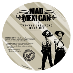 Mad Mexican - Two Way Jalapeño Bean Dip (355ml)