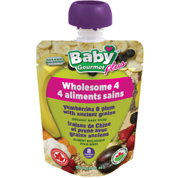 Baby Gourmet - Yumberries & Plum with Ancient Grains Organic Baby Food
