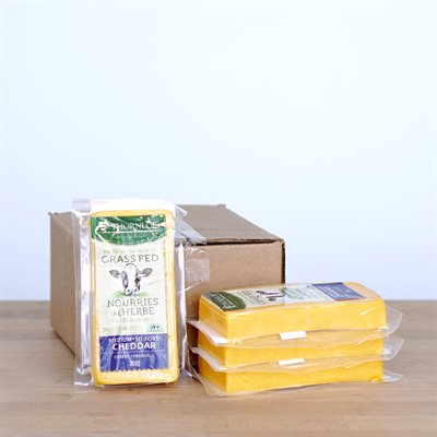 Thornloe Cheese - Cheddar Medium Grass-Fed (200g)