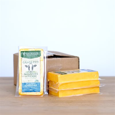 Thornloe Cheese - Cheddar Mild Grass-Fed (200g)