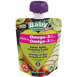 Baby Gourmet - Baked Apple Cinnamon Chia (128ml)
