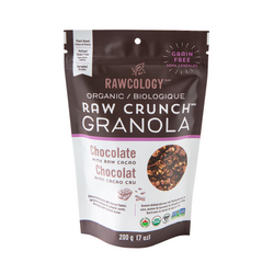 Rawcology - Chocolate with Raw Cacao Raw Crunch Granola (200g)