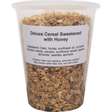 Deluxe Cereal Sweetened with Honey ( 1 X 32oz Tub )