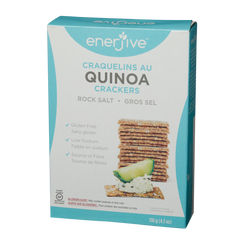 Enerjive Quinoa Crackers - Rock Salt (130g)