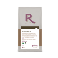 Reunion Island - Whole Bean - Organic - French Roast (12oz)