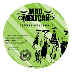 Mad Mexican - Chunky Guacamole - Mild (250ml)