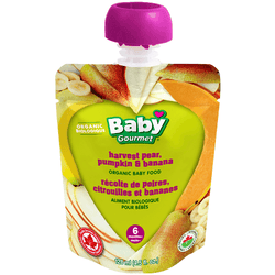Baby Gourmet - Harvest Pear, Pumpkin & Banana (128ml)