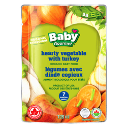 Baby Gourmet - Hearty Vegetable with Turkey (128ml)