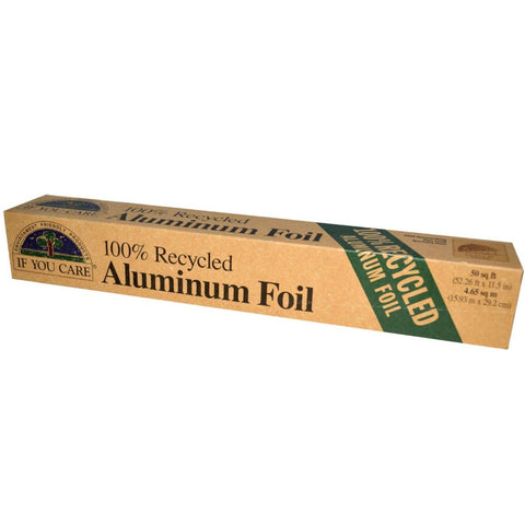 Recycled Aluminum Foil - If You Care (1 roll)