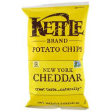 Kettle - New York Cheddar Chips (220g)