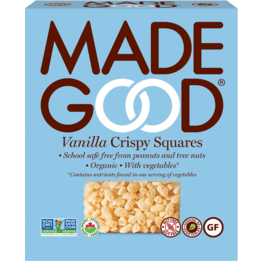Made Good - Crispy Squares - Vanilla (12x22g)